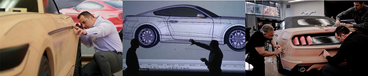 2015 Mustang: Designed With Clay & Tape - 2015 Mustang Clay Model