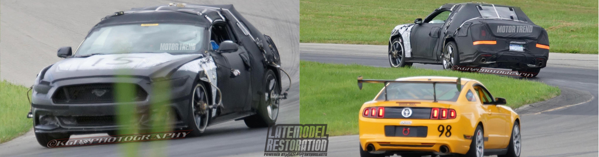 2015 Mustang News & Rumors - 2015 Mustang Spy Photos