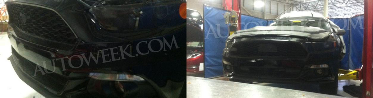 2015 Mustang News & Rumors - 2015 mustang front end spy photo