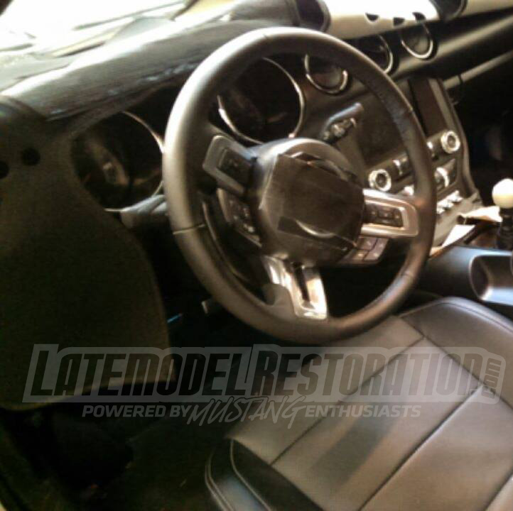 2015 Mustang News, Rumor & Spy Photos - 2015 mustang seats interior