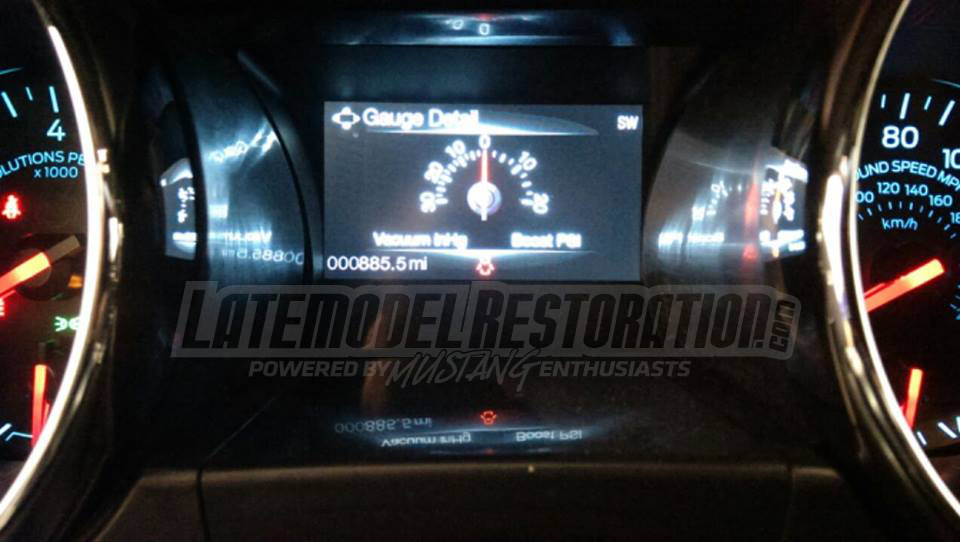 2015 Mustang News, Rumor & Spy Photos - 2015 mustang boost gauge