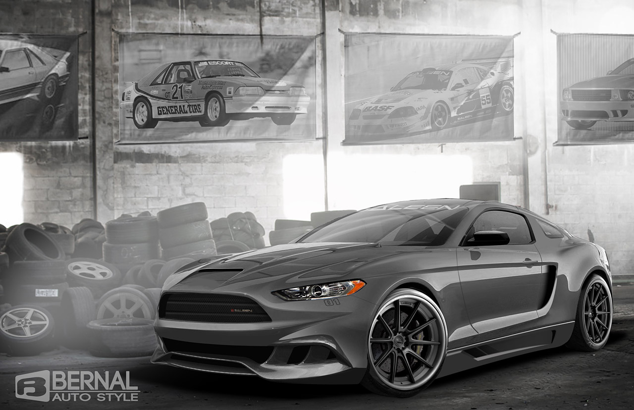 More 2015 Mustang (S550) Renderings!! - 2015 mustang saleen rendering