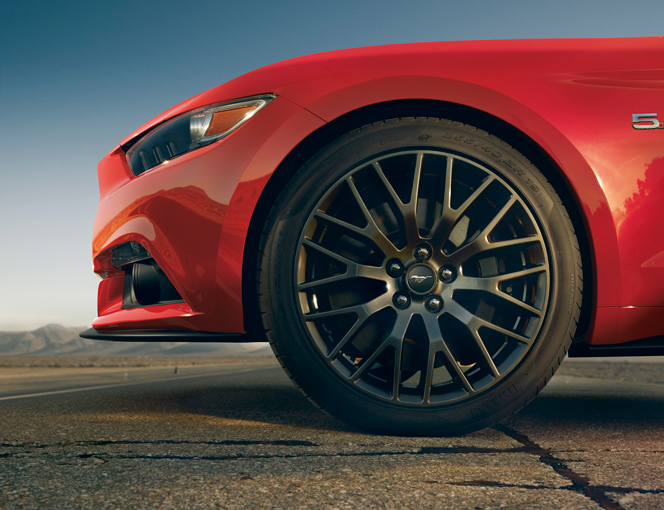 2015 Mustang Specs & Information: S550 Models, Engines, Colors & More - 2015 mustang wheels