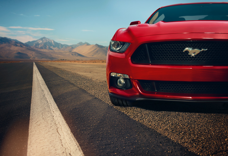 2015 Mustang Specs & Information: S550 Models, Engines, Colors & More - 2015 mustang grille