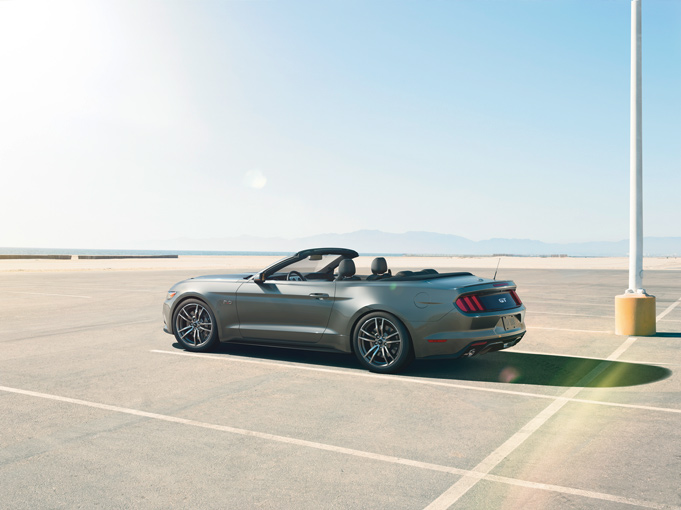 2015 Mustang Specs & Information: S550 Models, Engines, Colors & More - 2015 Mustang Convertible