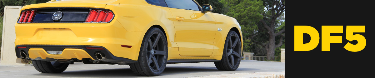 2015 Mustang Wheel & Tire Guide - 2015 Mustang GT Premium Wheels