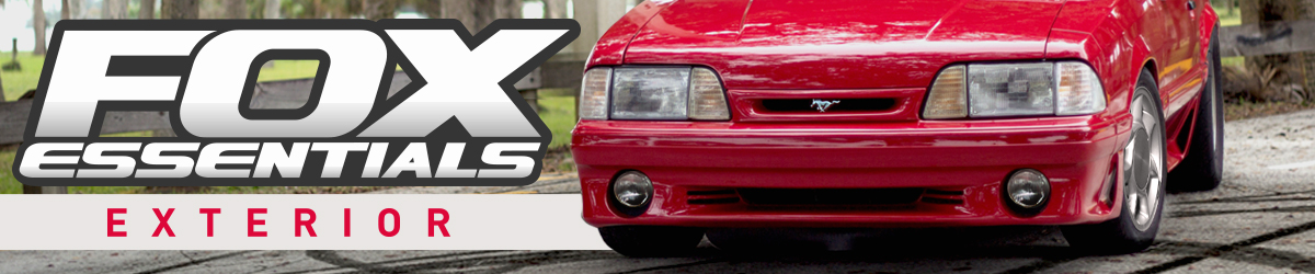 Fox Body Mustang Exterior Restoration
