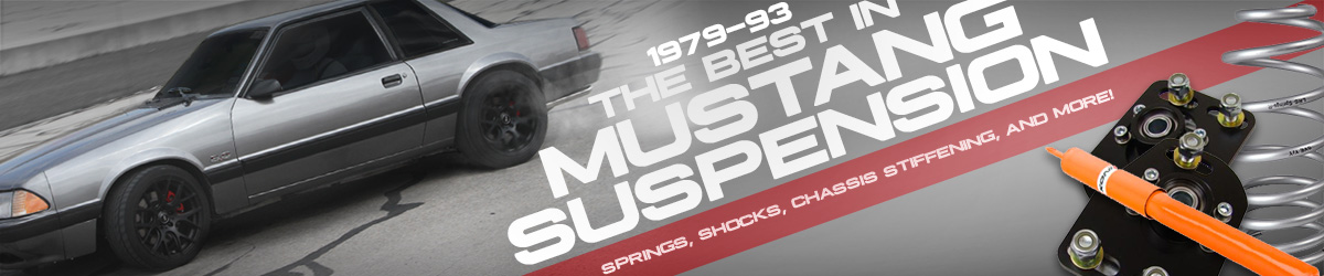 1979-1993 Mustang Suspension & Chassis Parts