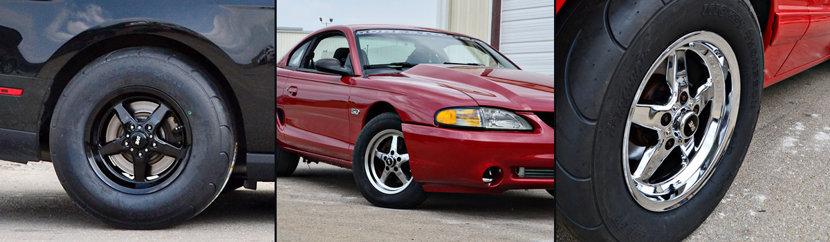 94-14 Mustang SVE Drag Wheels - Drag Wheels Gallery