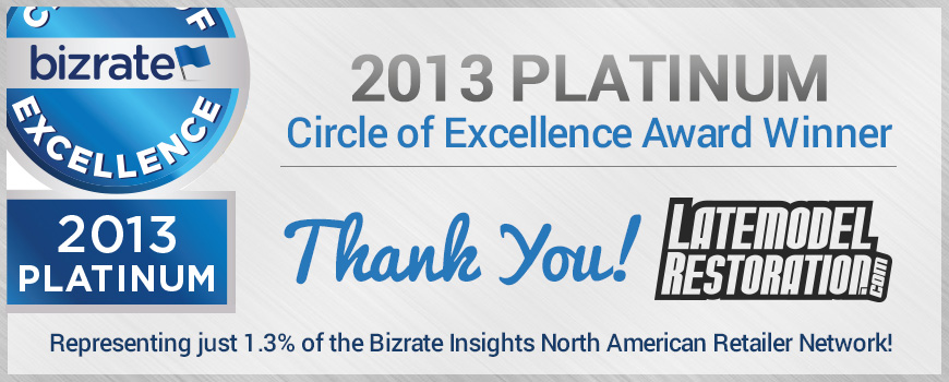 Bizrate 2013 Platinum Circle of Excellence Award - Bizrate 2013 Platinum Circle of Excellence Award