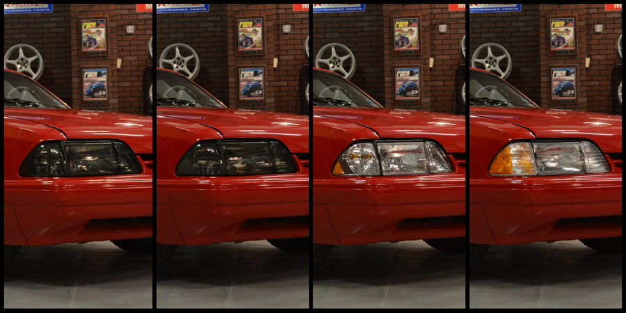Fox Body Mustang Headlight Installation & Comparison (87-93) - Foxbody Headlight Comparison