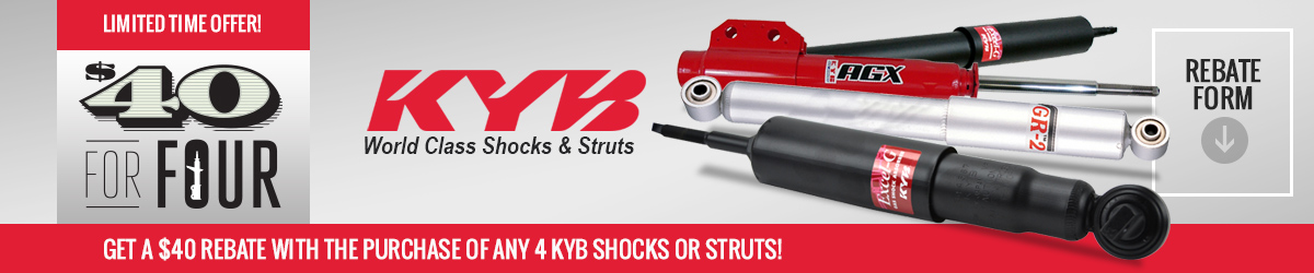 Mustang KYB Shocks and Struts