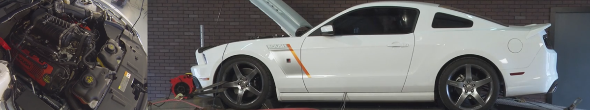 Mustang Roush Supercharger Dyno (11-14 5.0L) - Roush Supercharged Mustang Dyno