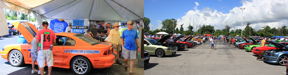 Mustang Week 2013 Videos & Pictures - mustang week car show
