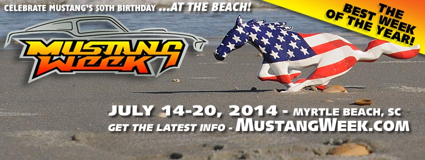 Mustang Week 2014 Pictures & Information - Mustang Week 2014 Schedule