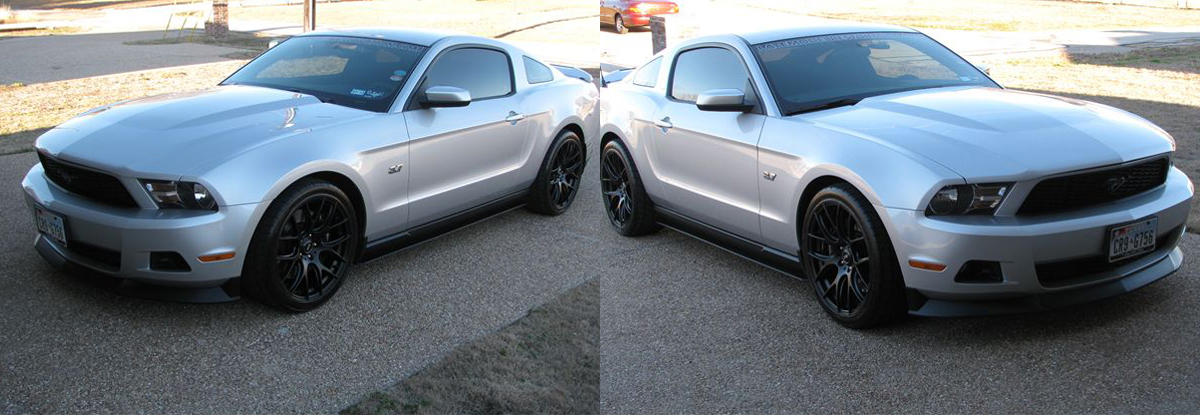 Project Six Appeal: 2011 Mustang V6 Exterior Revamp - 2011 mustang v6 roush side skirt