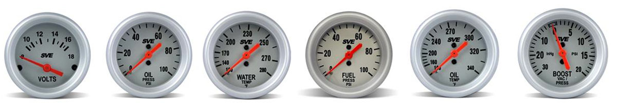 SVE Gauges: Ford Mustang & SVT Lightning  - sve gauges mustang and lightning