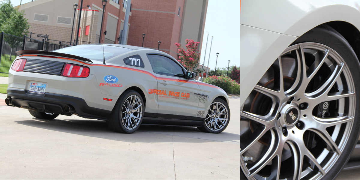 SVE Pace Car Gets A New Look - SVE Pace Car - Project 777