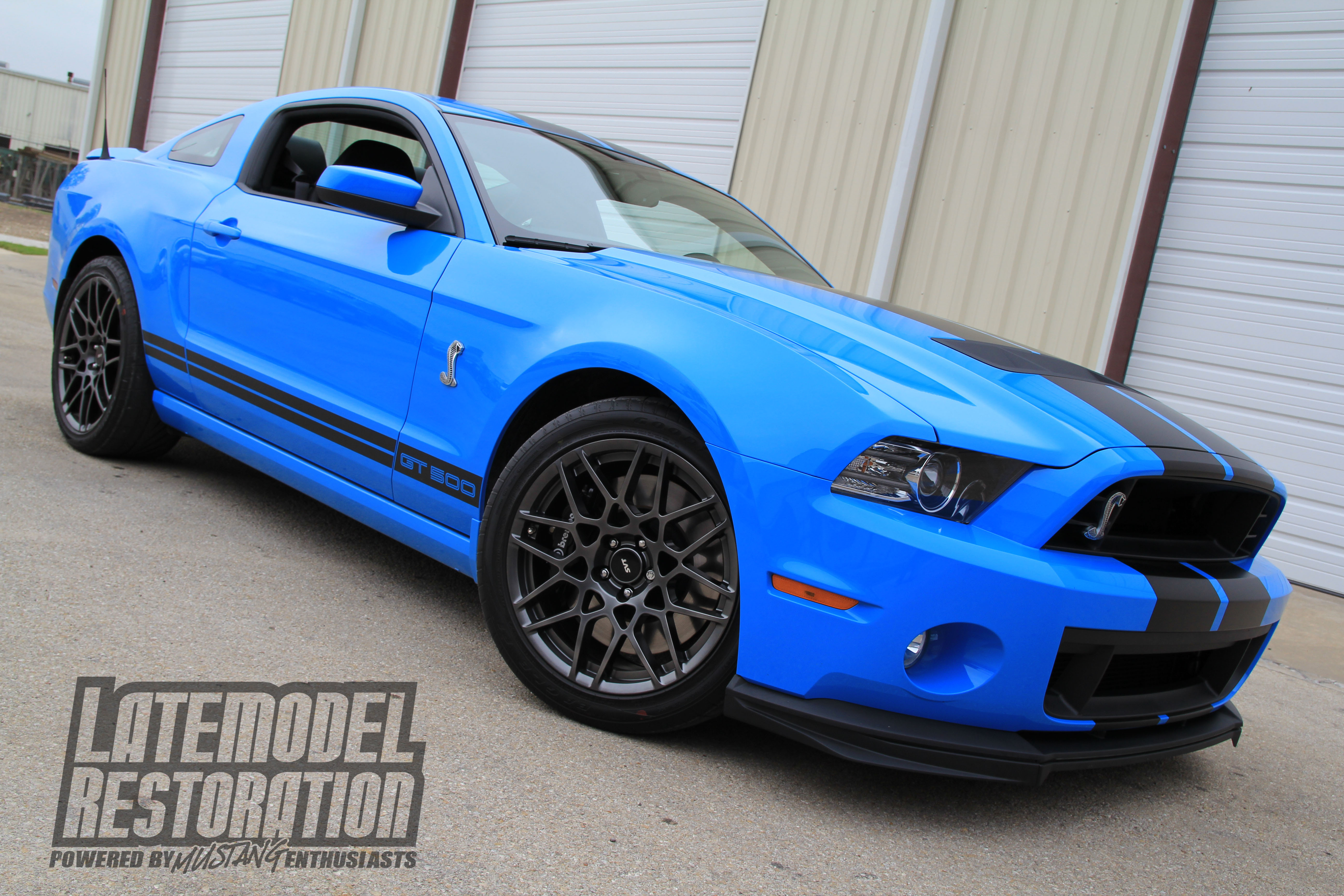 Top 10 Fastest Production Mustangs - 2013 Shelby GT500 Mustang