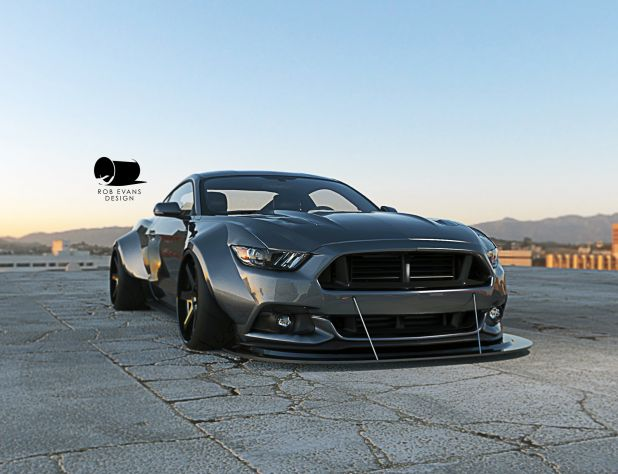 2015 mustang wide body kit